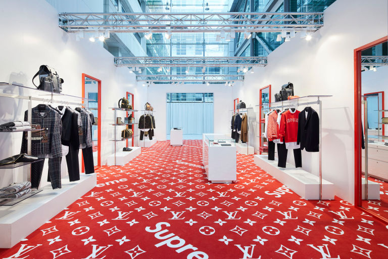Louis Vuitton s Supreme Pop-Up Store Has Arrived In London ... 9a4d4458cf1a