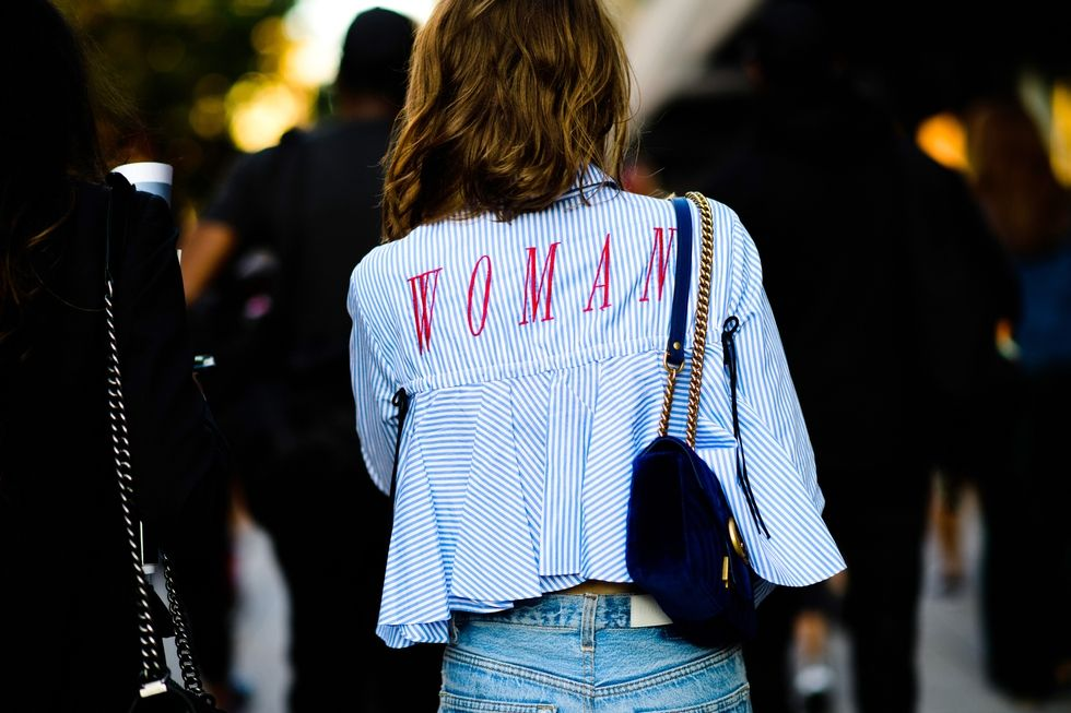 The Best Street Style From New York Spring 2018 Harper 39 S Bazaar Malaysia