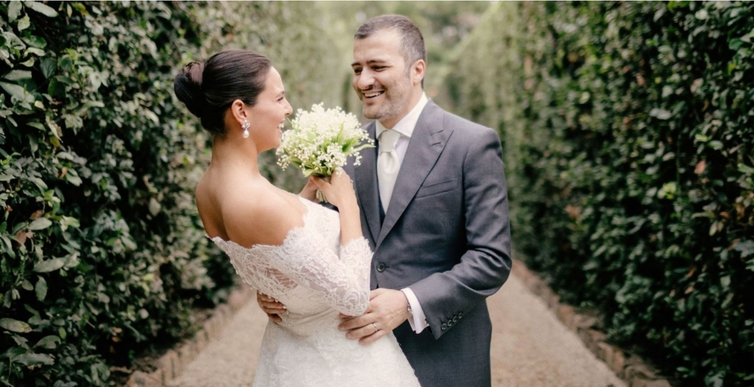 Carolina Alvarez-Mathies & Antonio Di Oronzo's Roman Wedding Fit For Royalty