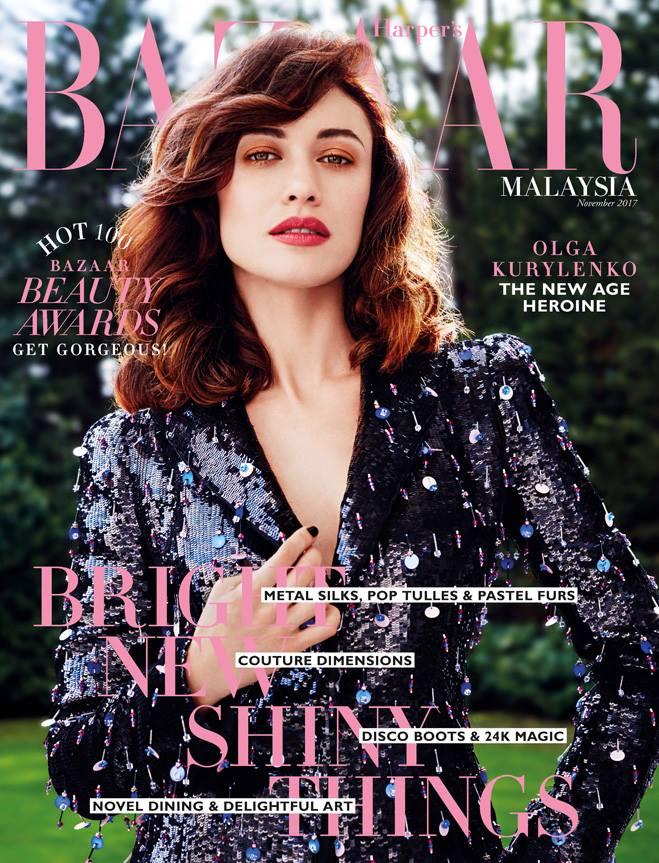 Harper's Bazaar Malaysia Latest Cover