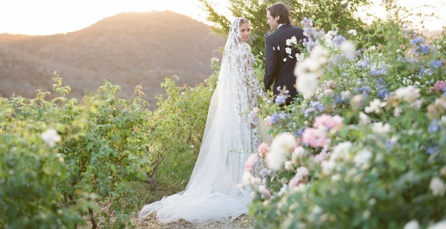 Trés Chic: Kori Bero & Parker Richey's Provençal Inspired Wedding on the West Coast