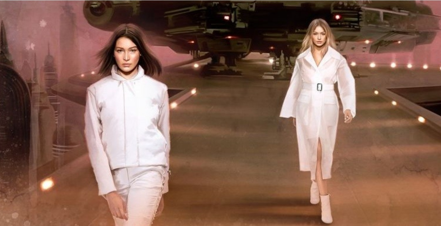 Kendall Jenner, Gigi Hadid and More Top Models Feature in Star Wars-Inspired Editorial