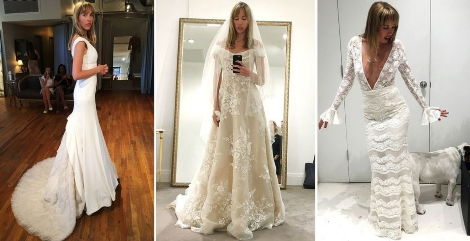 I Tried on 80 Wedding Dresses Before I Found 'The One'