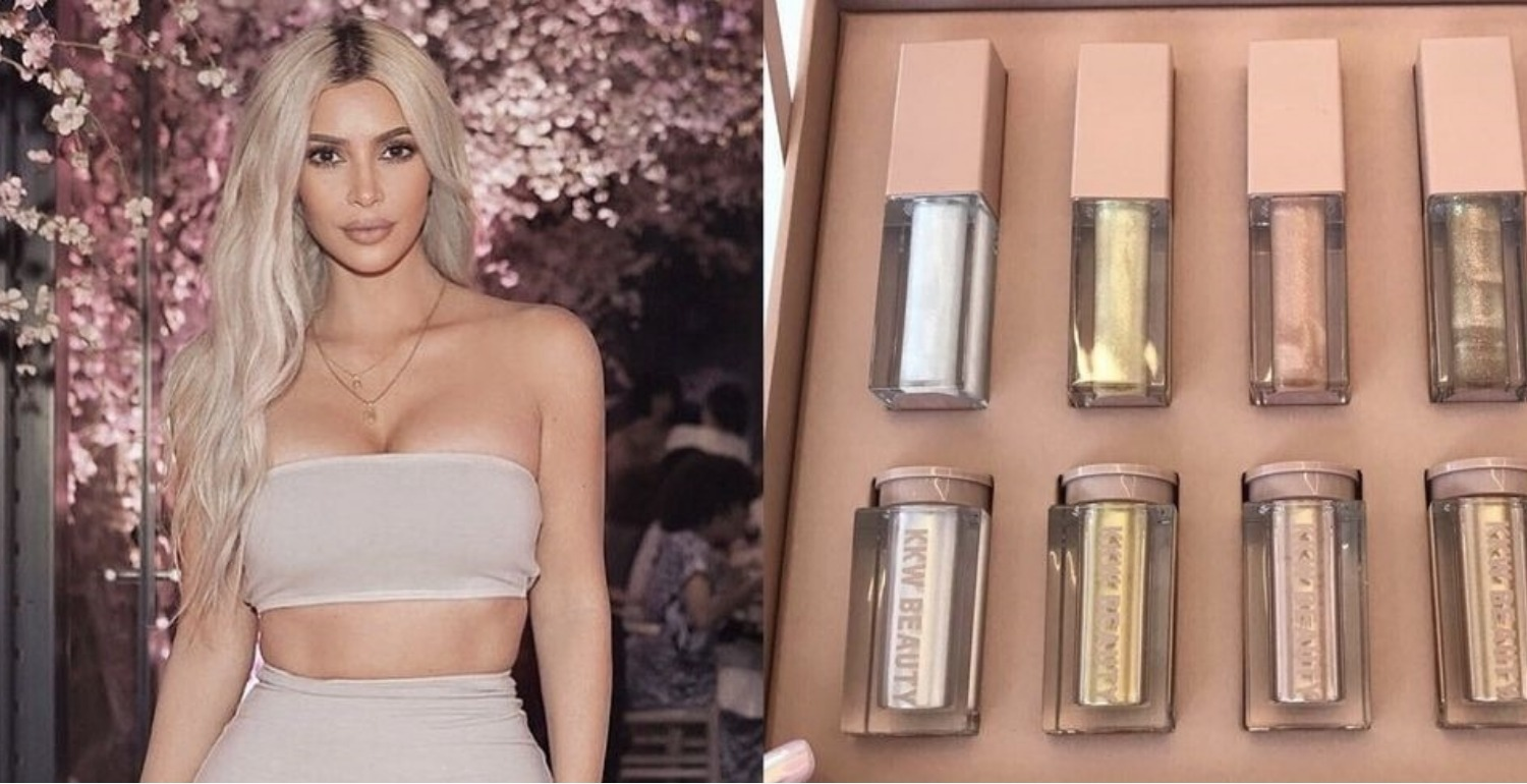 KKW Beauty Just Teased Lip Glosses and Shimmers, and They're So Sparkly