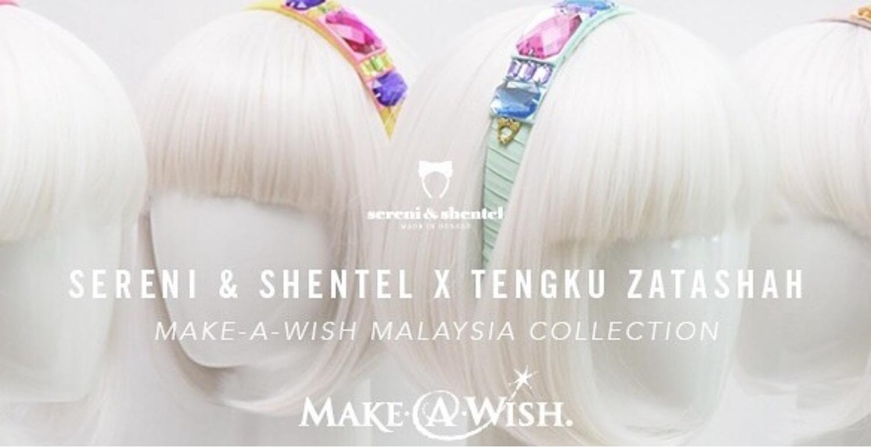 Sereni & Shentel And Tengku Zatashah Help To Make Children's Wishes Come True