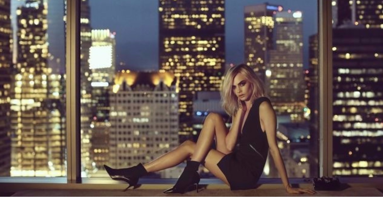 Cara Delevingne Dazzles In Jimmy Choo's Cruise 2018 Campaign
