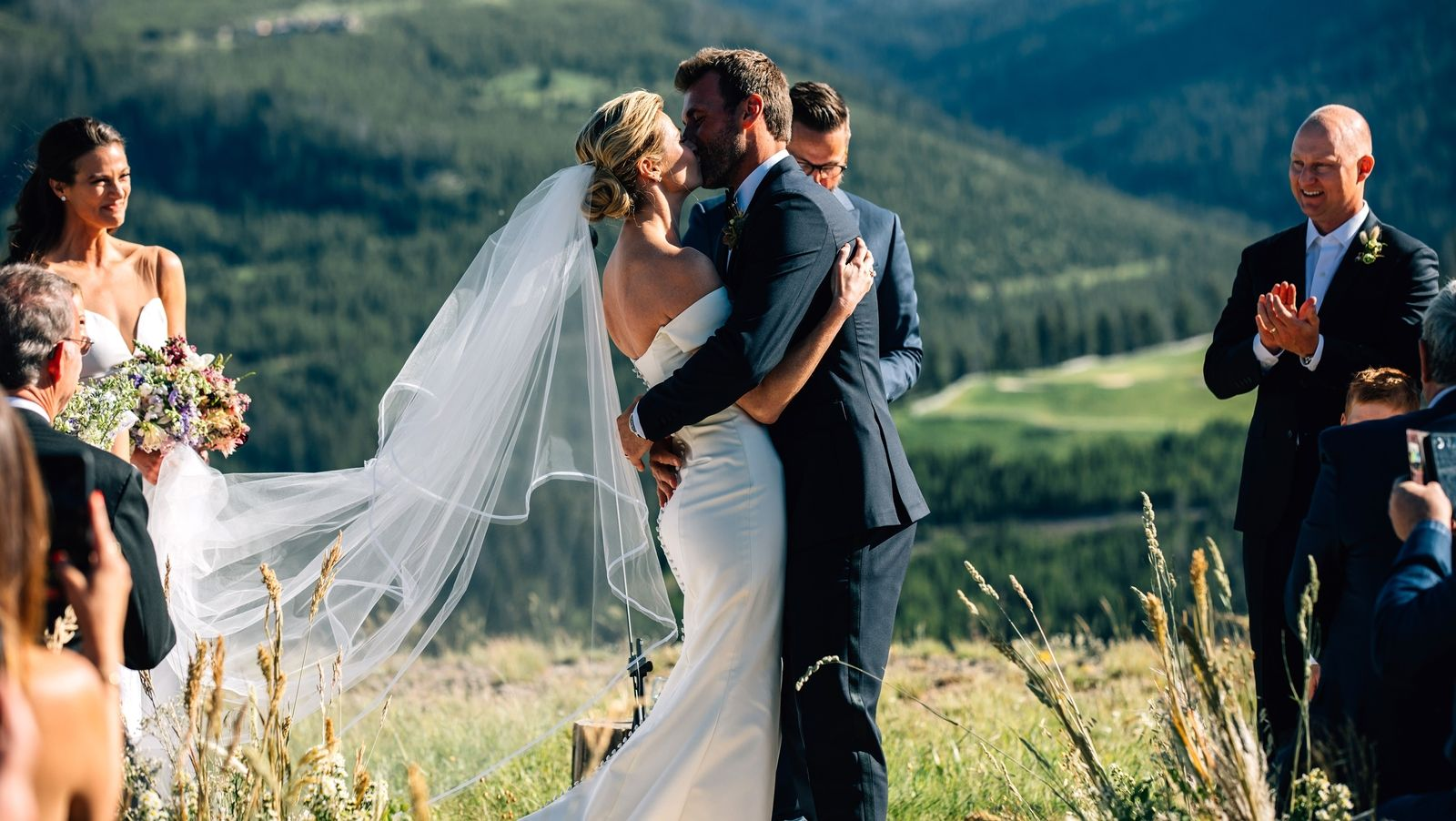 Exclusive: Erin Andrews and Jarret Stoll's Mountain-Top Wedding in Montana