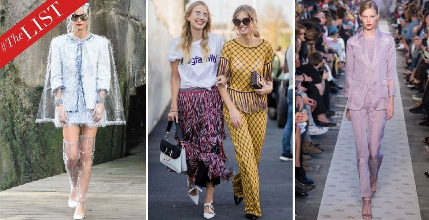 #TheLIST: 10 Trends You'll Be Wearing In 2018—And 3 You Should Retire