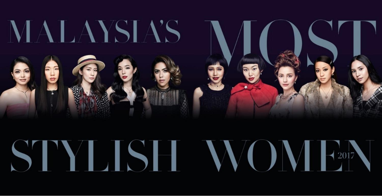 Malaysia's Most Stylish Women 2017