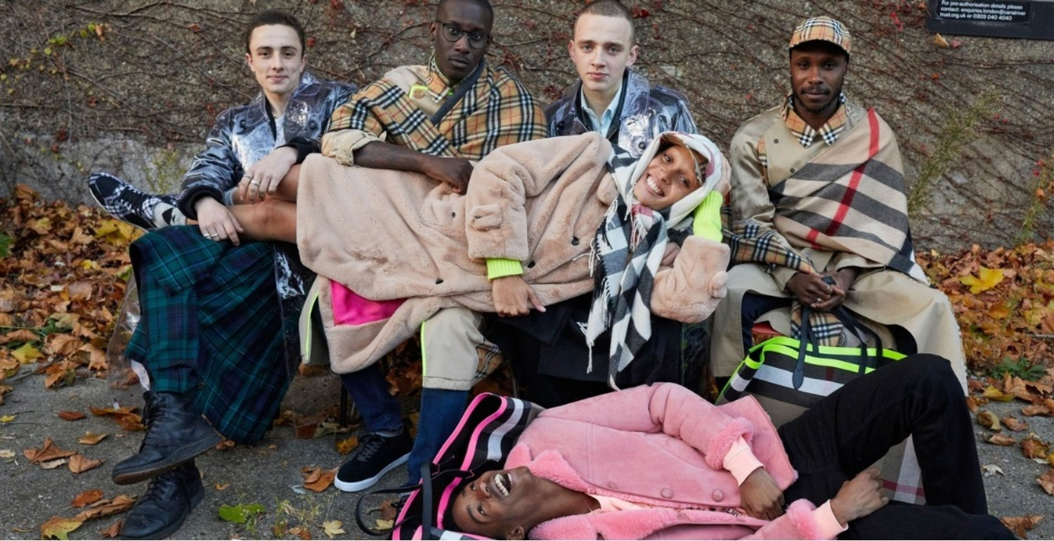 Adwoa Aboah and Juergen Teller Form a Dream Team For Burberry