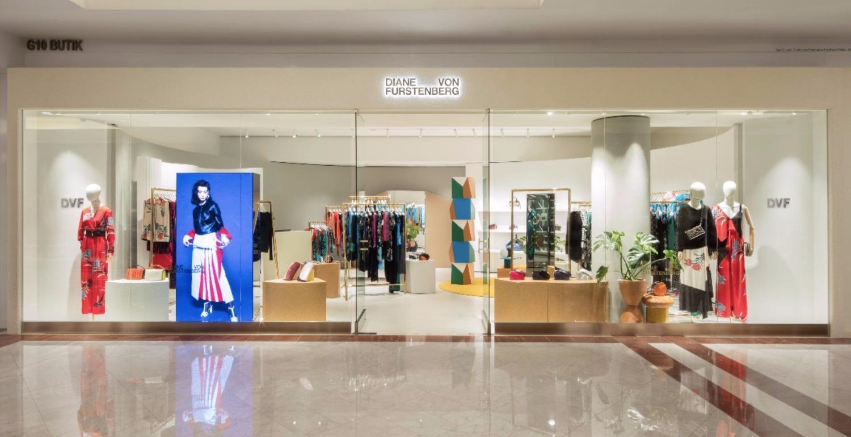 Diane von Furstenberg Opens New Store at Suria KLCC
