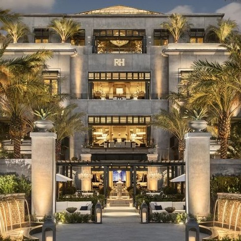 Restoration Hardware Just Opened A Mansion in Palm Beach ...