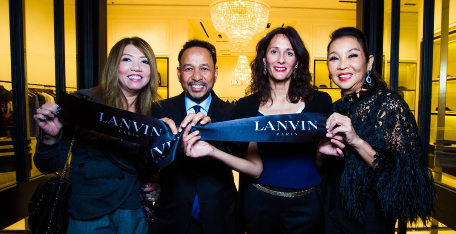 A Throwback to Lanvin's Opening Party