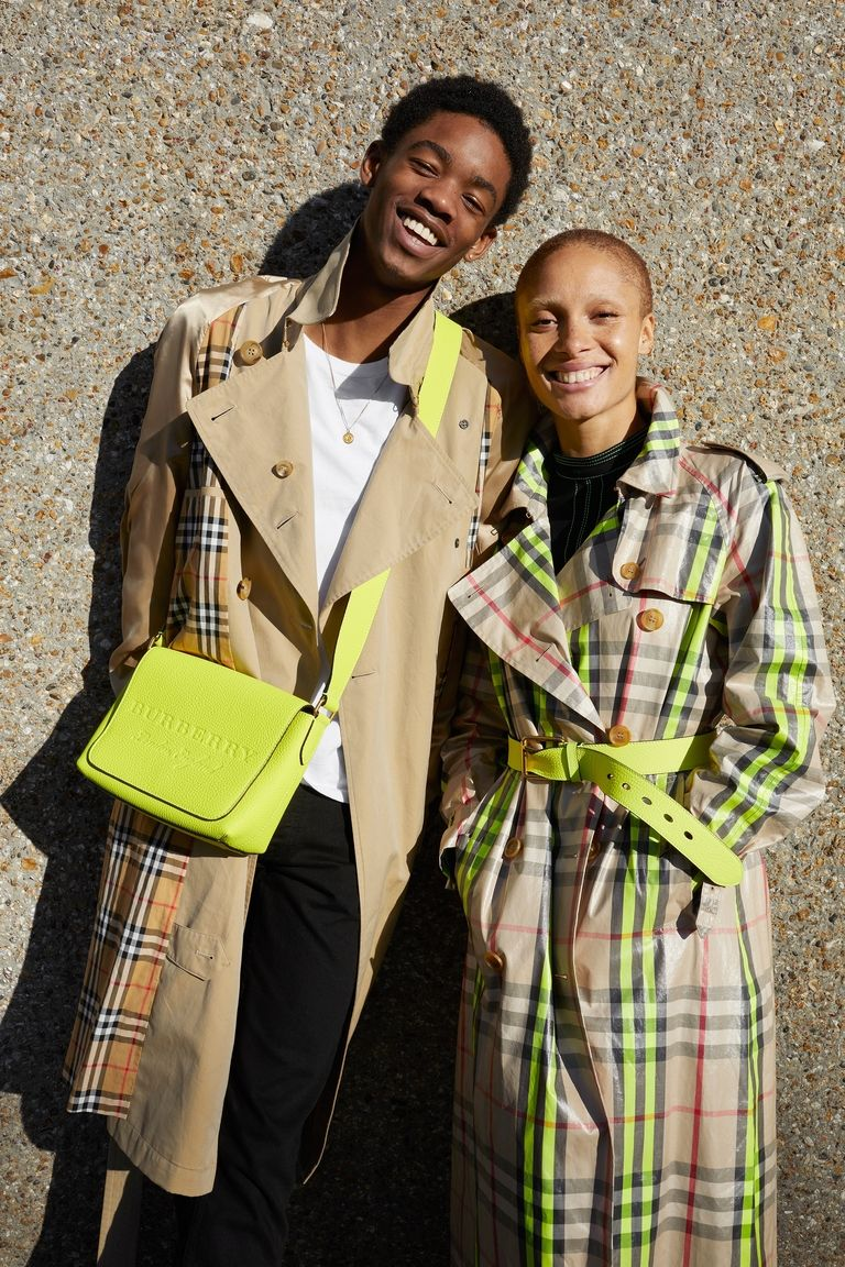 Adwoa Aboah Juergen Teller Team Up For Burberry