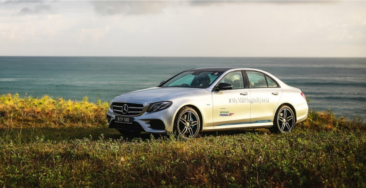 A Brighter Tomorrow With The All-New Mercedes-Benz E350e