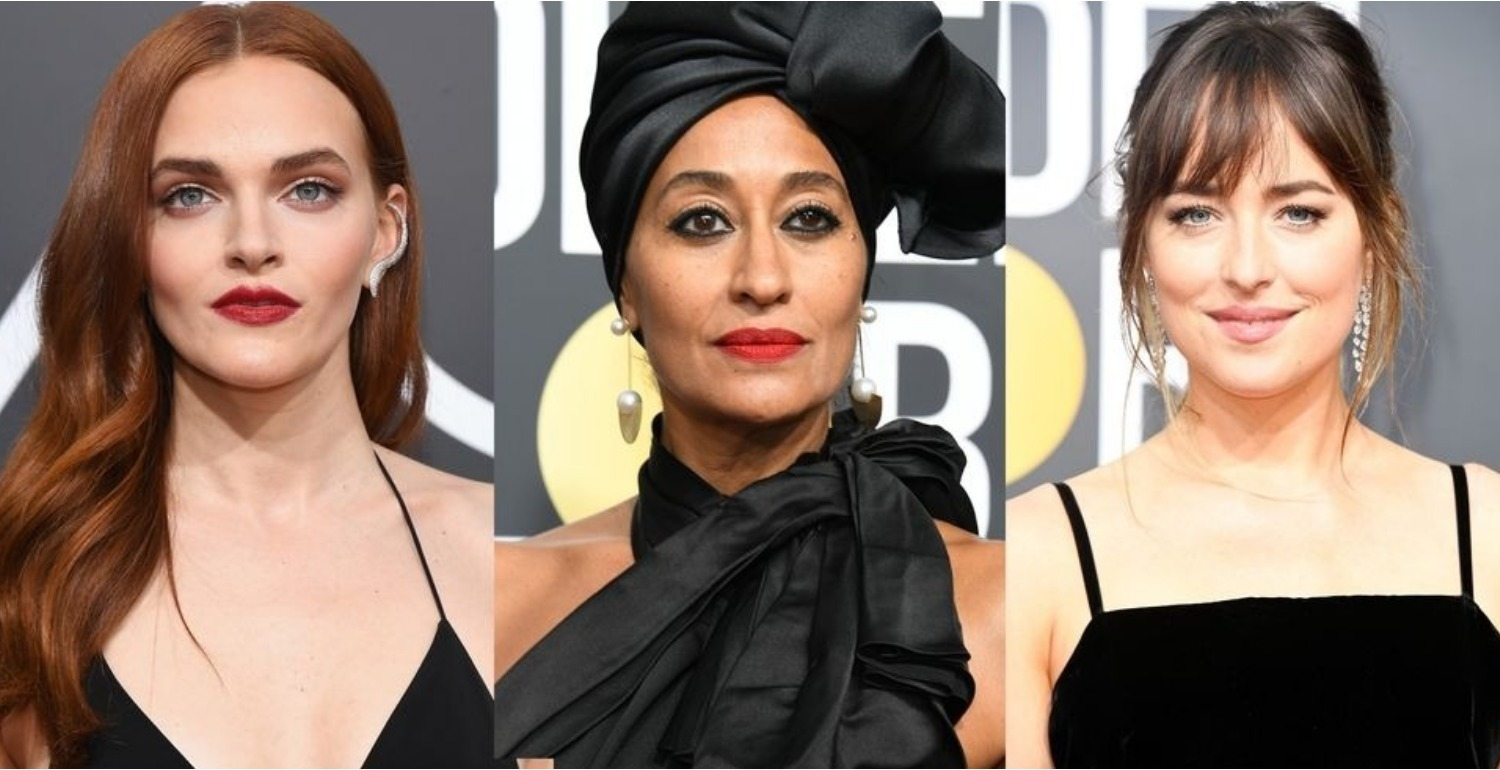 The Best Hair And Makeup Looks From The Golden Globes