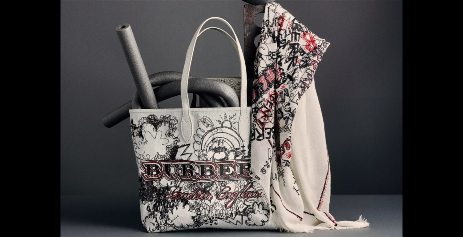 Introducing the Burberry Doodle Collection
