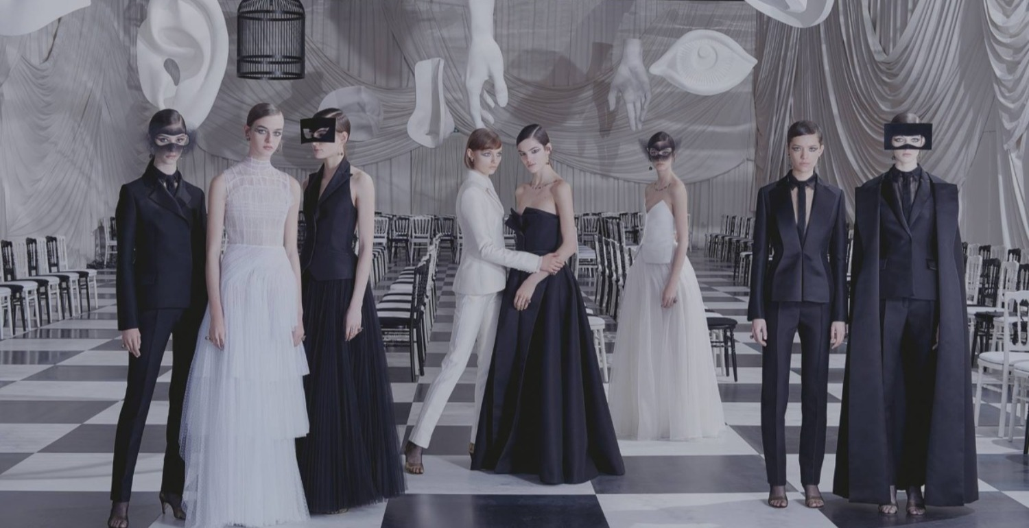 Dior Haute Couture Hits The Runway In A Surreal Dream