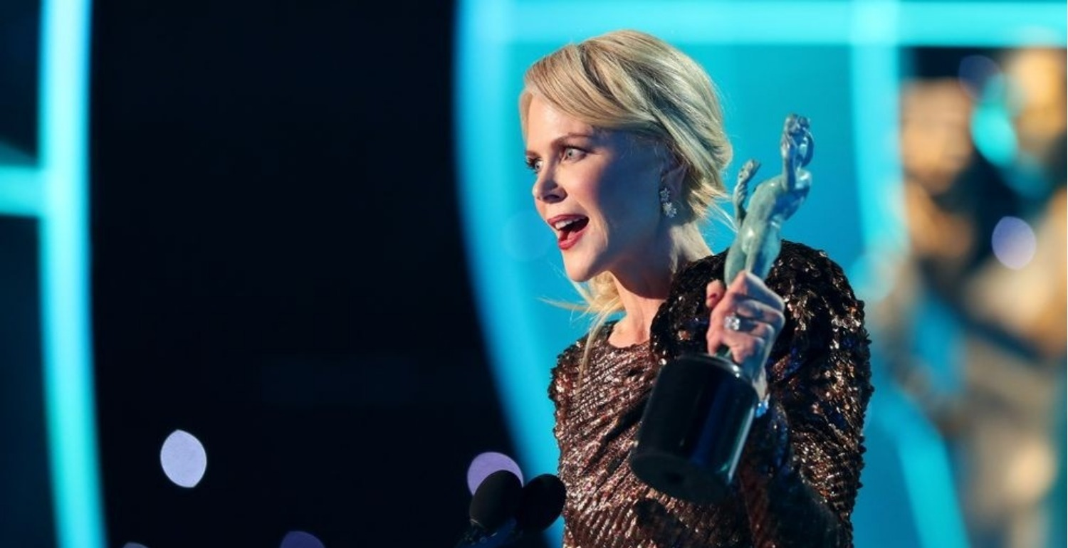 Nicole Kidman Made a Powerful Speech About Ageism in Hollywood at the SAG Awards