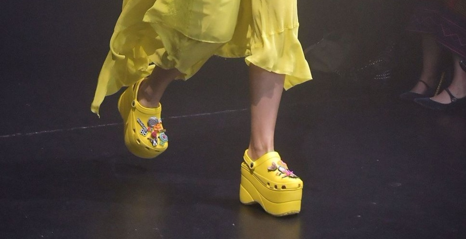 Balenciaga's RM3,300 Platform Crocs Sold Out Before They Were Released