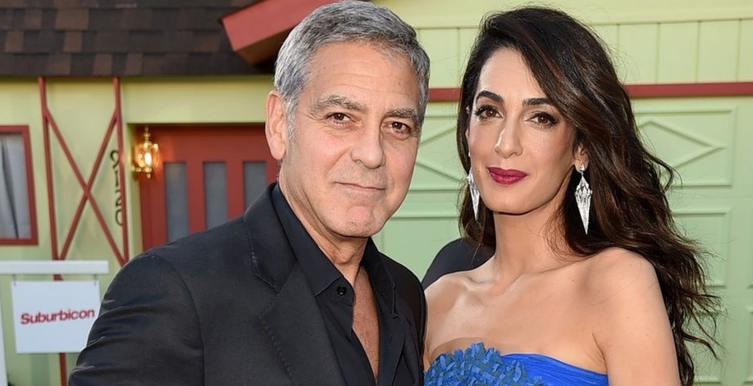 George Clooney First Met Amal in the Comfort of His Own Home