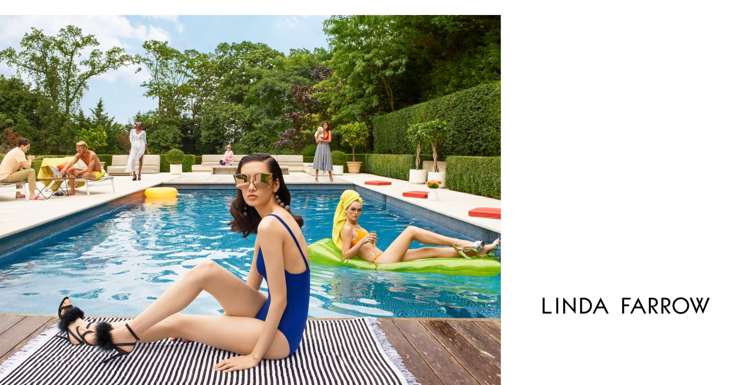 Celebrate The Good Life With Linda Farrow's Spring Summer 2018 Collection