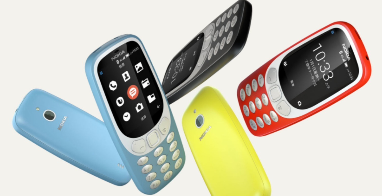 Noughties Nostalgia Alert: Nokia is Relaunching the 3310 with Apps and Wi-Fi