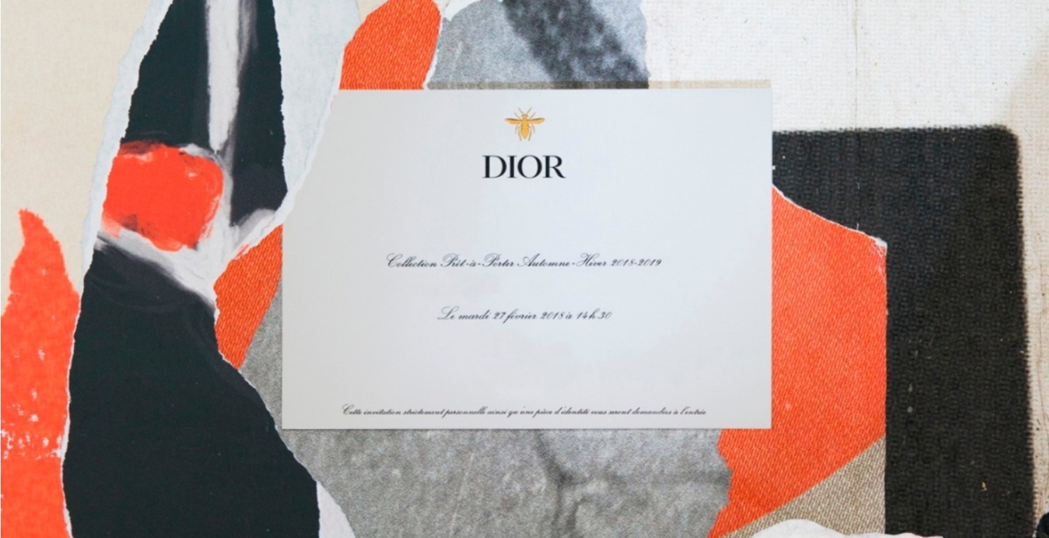 Head Over To Paris Fashion Week And Watch Dior's AW18 Runway Show