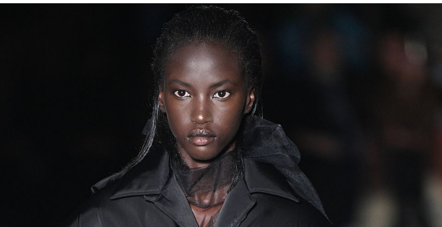 A Black Model Opened The Prada Show For The First Time Since 1997
