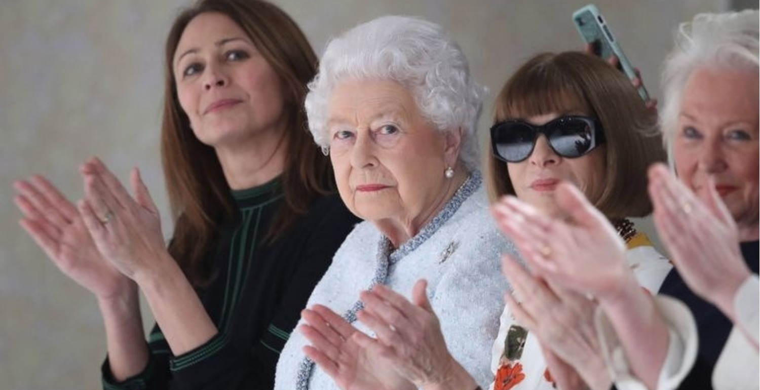 The Queen Just Made A Very Unexpected Appearance At London Fashion Week