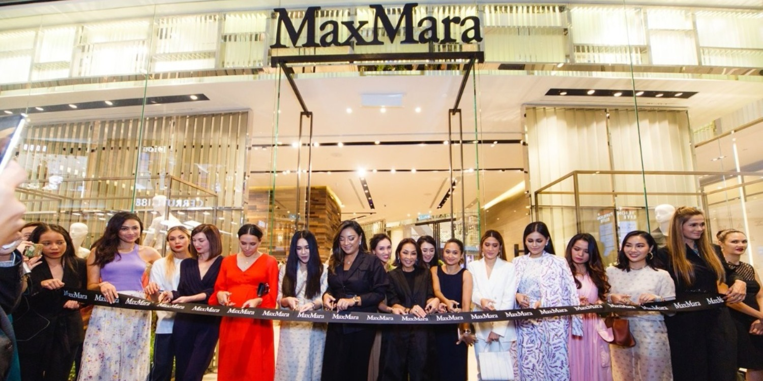 The Grand Opening of Max Mara Flagship Store in Pavilion Kuala Lumpur
