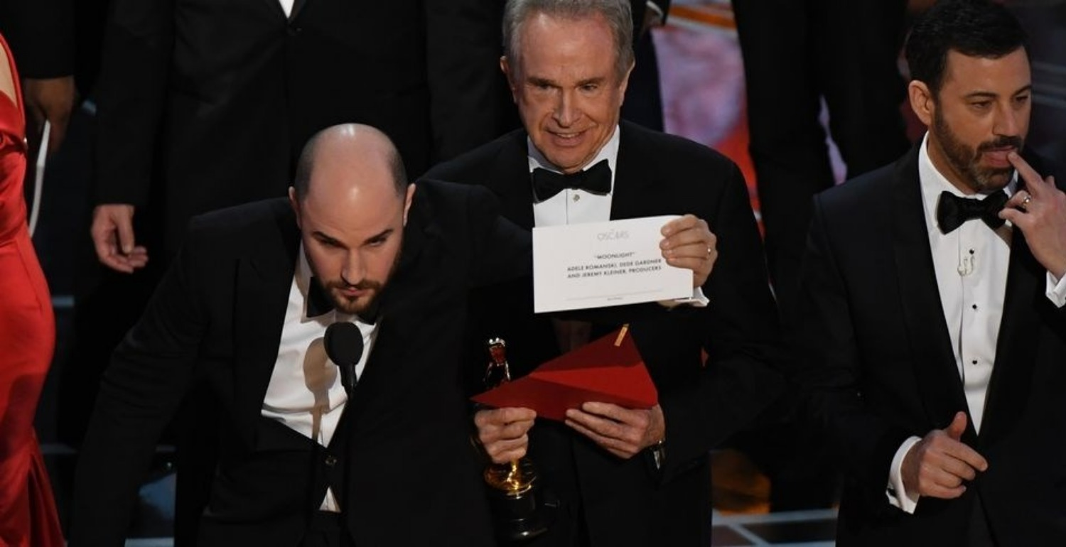 Remember When They Announced the Wrong Best Picture Winner at Last Year's Oscars?