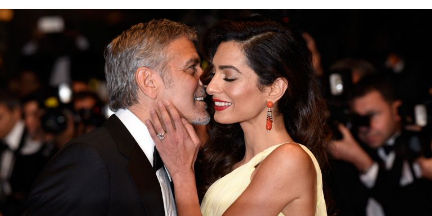 Amal Clooney Opens Up About Falling in Love With Husband George
