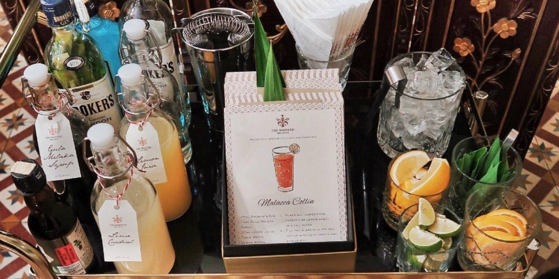 It's Gin O'Clock At The Majestic Hotel Malacca