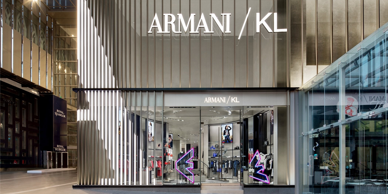 Armani Opens Its Flagship Boutique in Kuala Lumpur