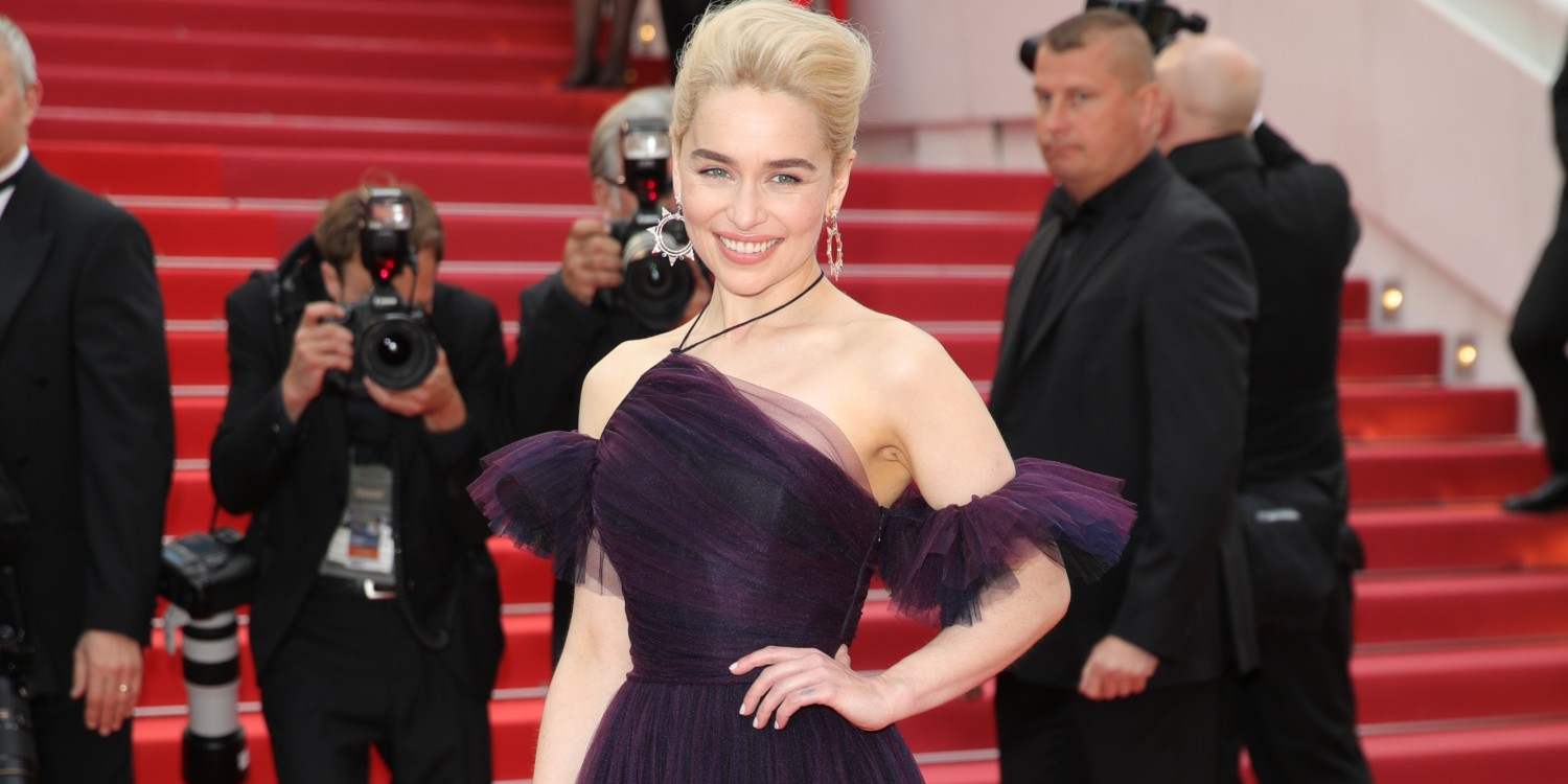 Emilia Clarke's Dior Gown at Cannes Film Festival Took 250 Hours To Make
