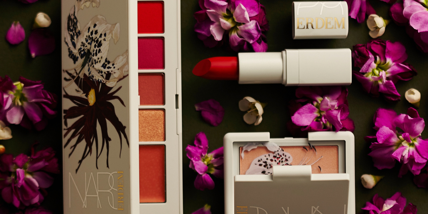 The Erdem for Nars 'Strange Flowers' Collection is Finally Here