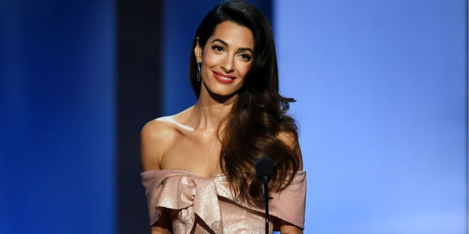Read the Amal Clooney Speech That Reduced George to Tears