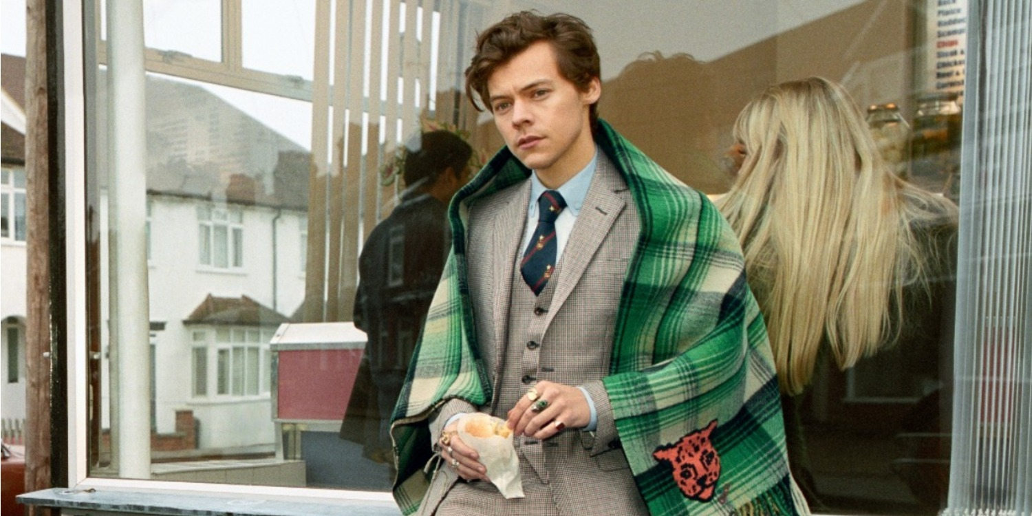 The Harry Styles Gucci Campaign We've All Been Waiting For Is Finally Here