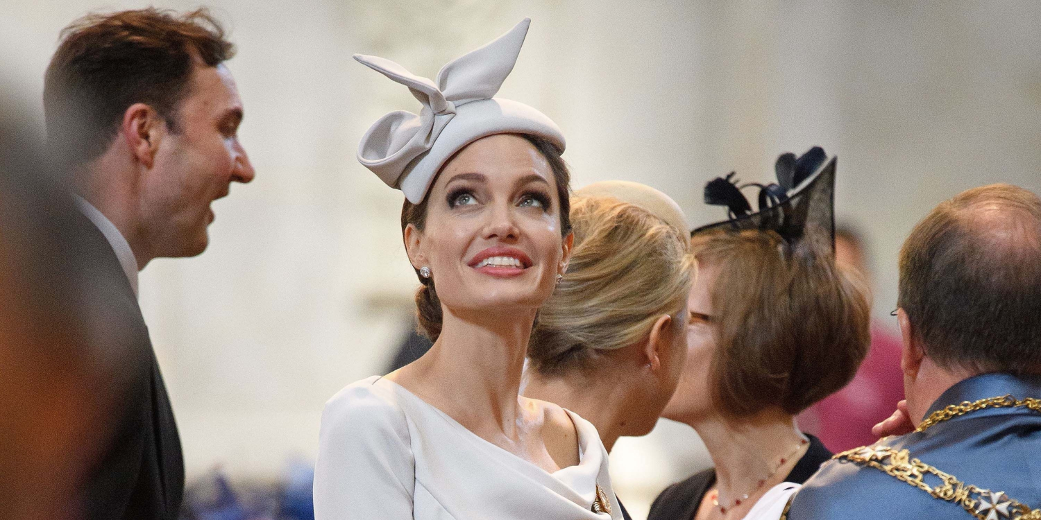 Angelina Jolie Attends a Royal Event in London with Duchess-Worthy Style
