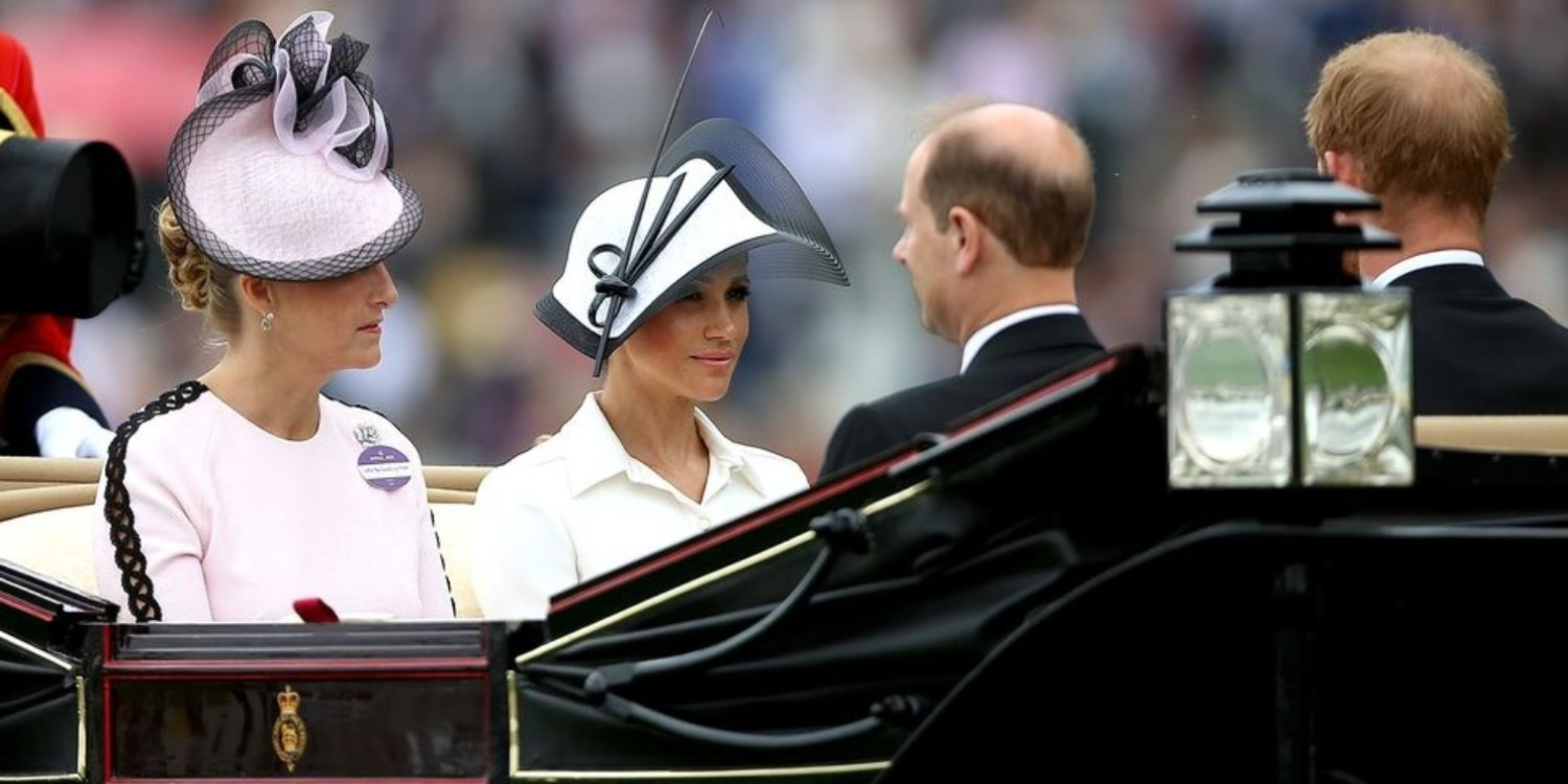 Meghan Markle Wears Givenchy Again at Her First Royal Ascot