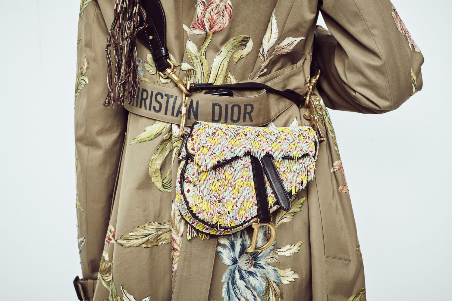 The Return of Dior's Iconic Saddle Bag