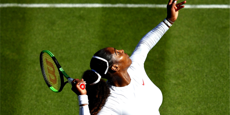 Serena Williams Just Won Her First Wimbledon Match Since Becoming a Mom