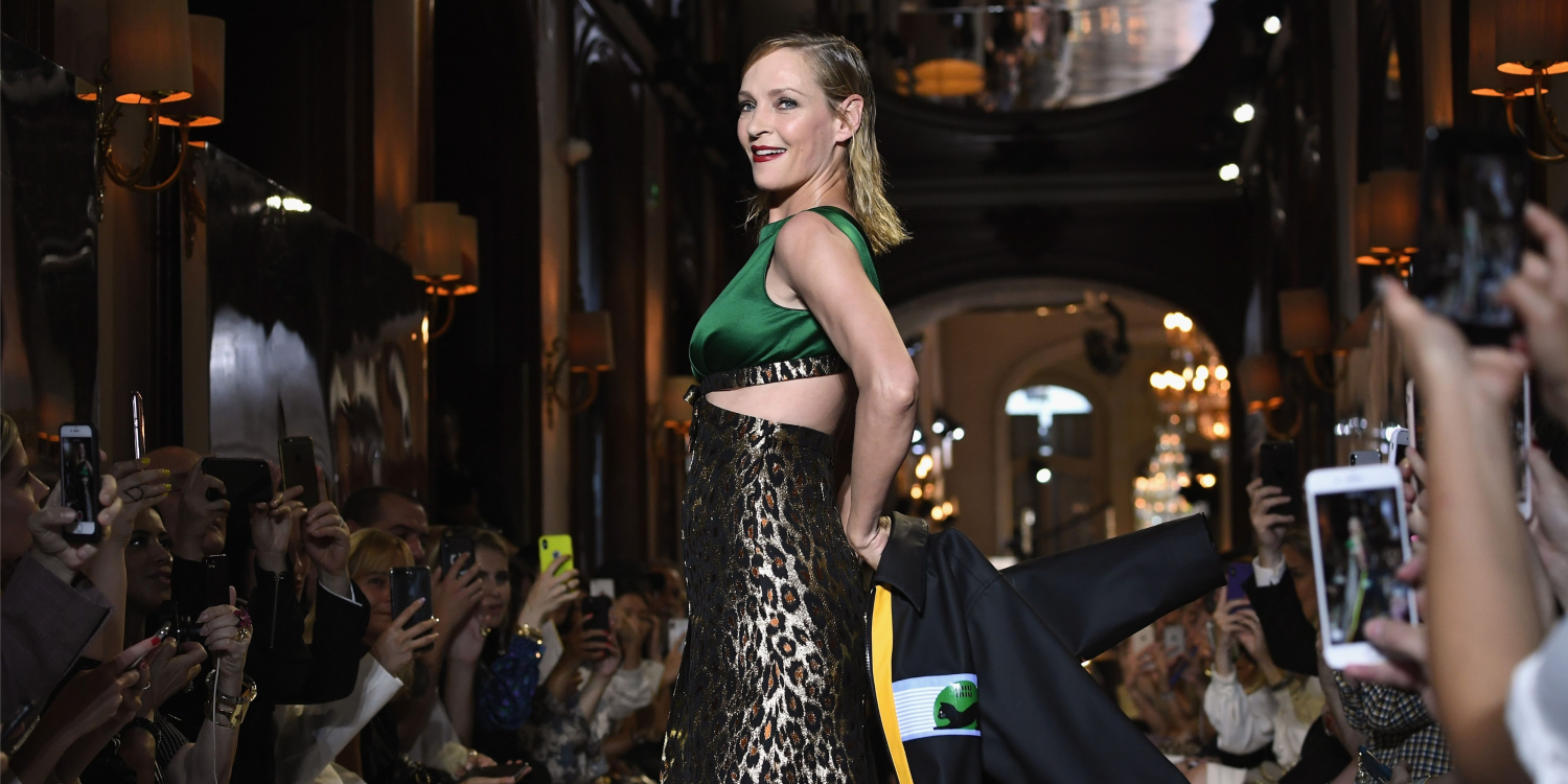 Uma Thurman Leads a Star-Studded Cast at the Miu Miu 2019 Cruise Collection Show