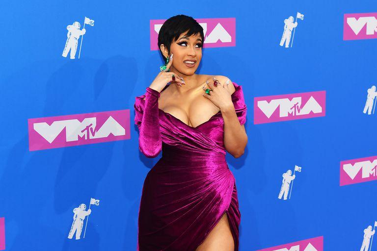Cardi B Debuts Her Post-Baby Makeover at the VMAs
