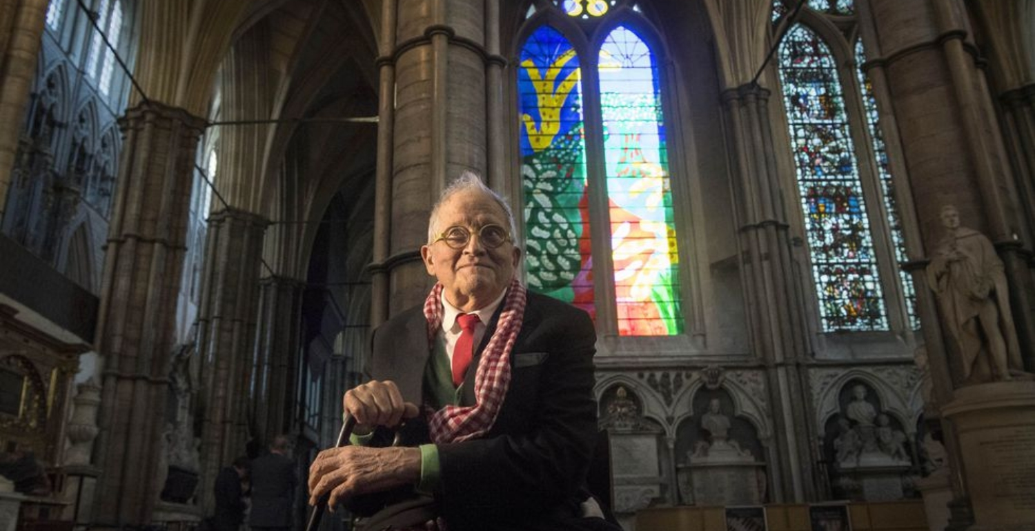 David Hockney Designs Westminster Abbey Window Painting Using An iPad