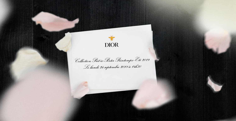 Livestream: Dior Spring/Summer 2019 Show