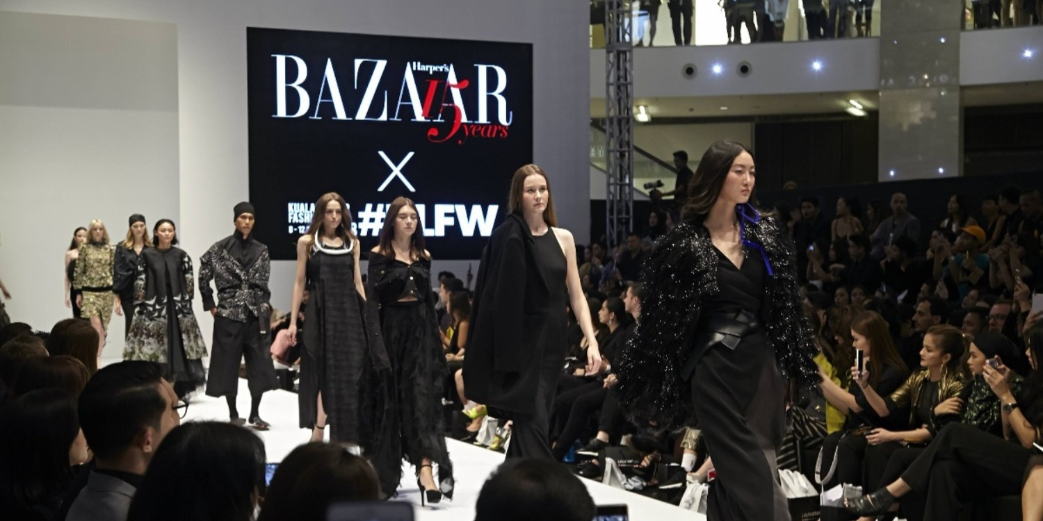 BAZAAR x KLFW 2018: 15th Anniversary Fashion Runway and Black Party