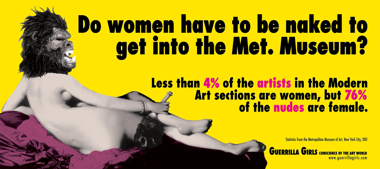 Feminist Activists Guerrilla Girls Talk Feminism and #MeToo Through Gorilla Masks, Words and Art