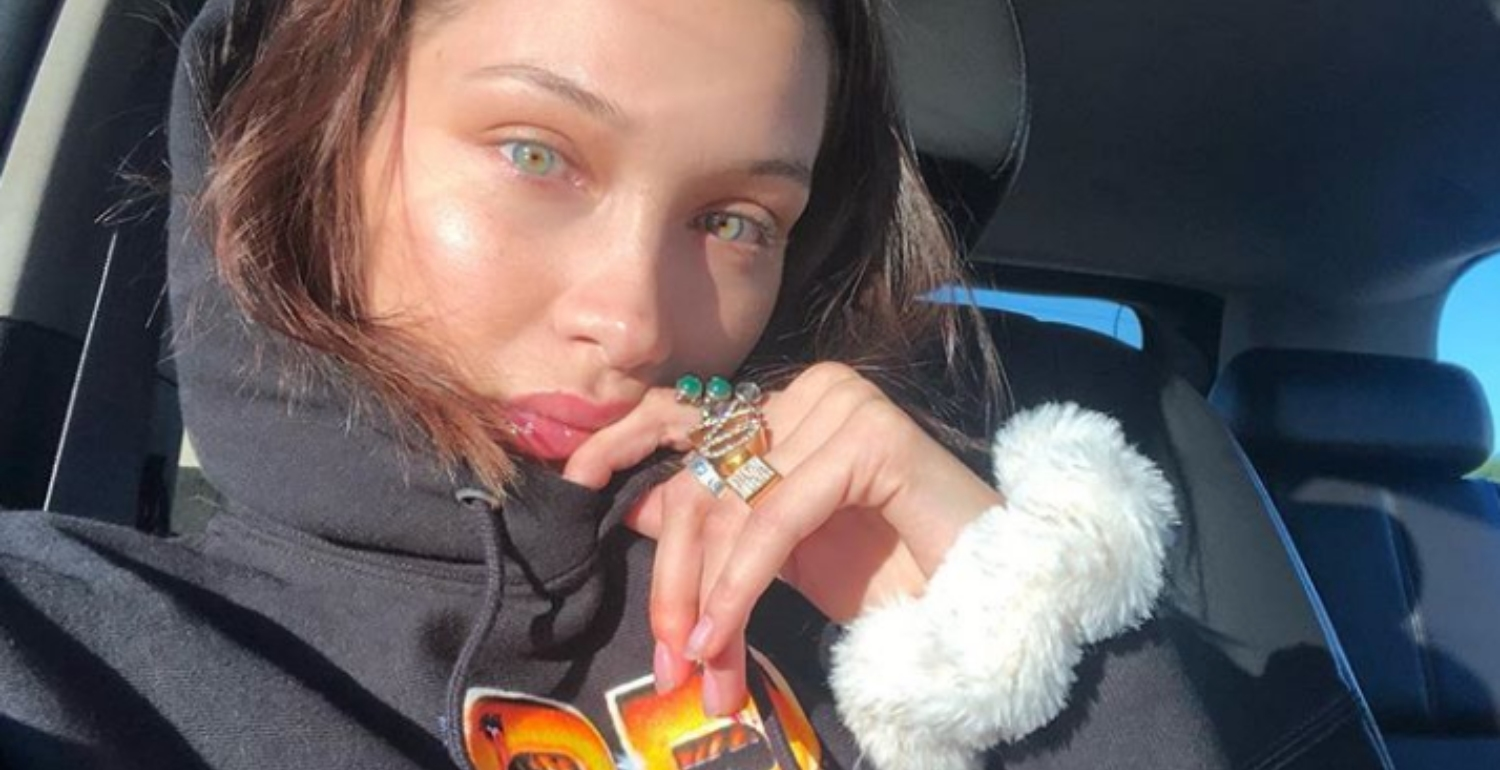 Bella Hadid Just Revealed The One Secret To Her Glowy Skin